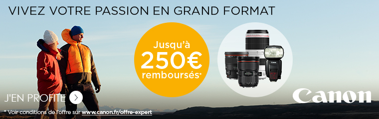 Canon offre Expert 2017