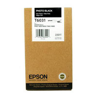 CARTOUCHE EPSON SP 7800/9800 NOIR PHOTO 220ML T6031