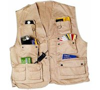 GILET PHOTO BEIGE ISO/MATIN L/XL
