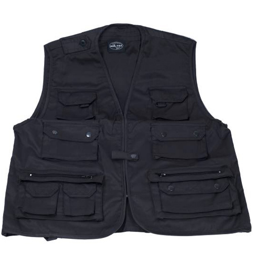 Gilet photo Iso Taille M noir