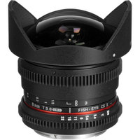 OBJECTIF Samyang 8mm T3,8 Fisheye Video DSLR Nikon