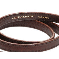 Courroie Artisan&Artist ACAM-280 cuir brown fine