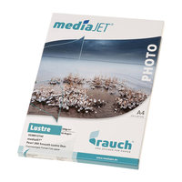 "Papier Rauch MediaJet Pearl ""smooth lustre duo"" 260g A3 50f"