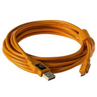 CABLE Tethertools   USB2 /MICRO B  serie :SONY A7  4.5M ORANGE