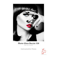 PAPIER HAHNEMUHLE PHOTO GLOSS BARYTA 320GRS A3 25f