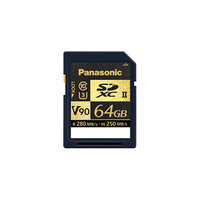 CARTE SDXC PANASONIC 64 GB L280/R250 MB/s UHS3