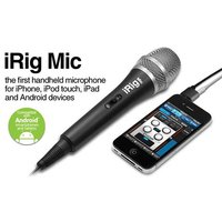 MICRO MAIN IK MULTIMEDIA iRig Mic pour iPhone, iPad, IpodTouch et Android