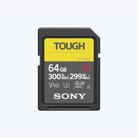 CARTE SDXC SONY G series TOUGH 64GO W299M/S UHS-II U3