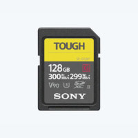 CARTE SDXC SONY G series TOUGH 128GO W299M/S UHS-II U3