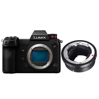 KIT PANASONIC LUMIX S1 + BAGUE SIGMA MC-21 monture EF