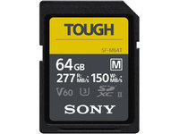 CARTE SDXC M series TOUGH SONY 64GO W150M/S UHS-II V60 U3