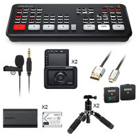 PACK BLACKMAGIC ATEM MINI PRO / RX0 Mk2