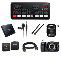 PACK BLACKMAGIC ATEM MINI PRO ET POCKET 4K